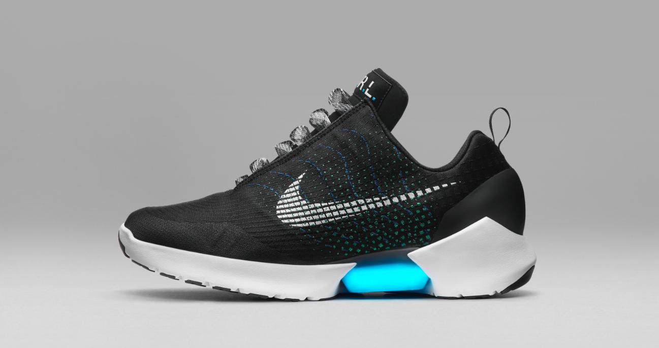 Nike právě představil své samozavazovací boty  c3cefe4af8